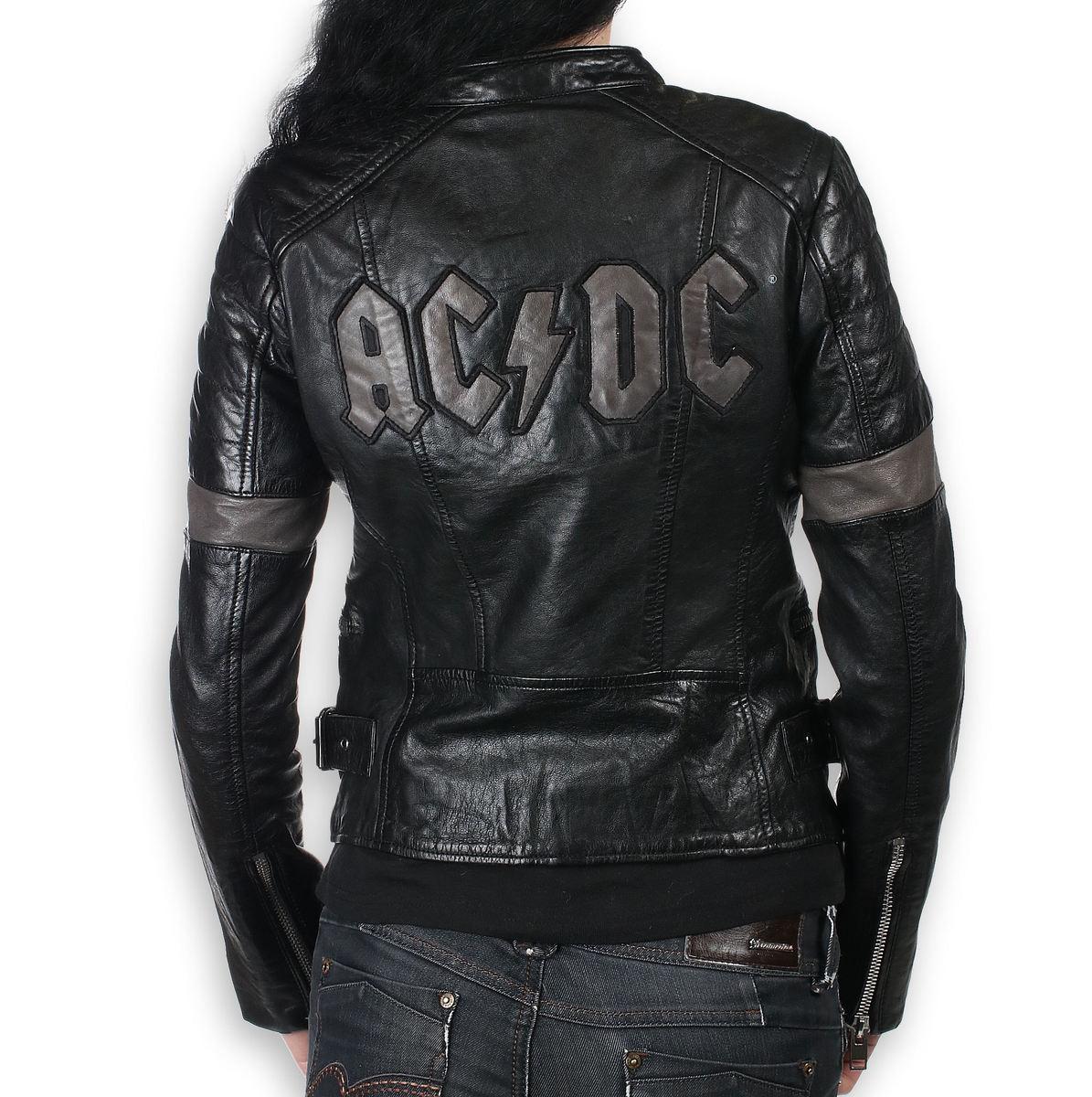 Damen Lederjacke AC DC MEGYN M0010869 Metal shop.at
